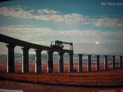 Höchstgelegene Brücken auf dem Tibet-Hochplateau (nach n-tv 26.10.08)