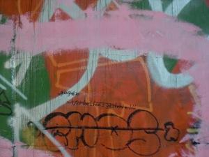 Graffity- Verschmutzung, deren Beseitugung den Steuerzahler Unsummen kosten