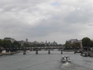 Pont des Arts von Westen aus gesehen