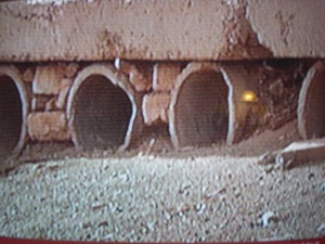 Röhrensystem zum Gründen tibetanischer Häuser