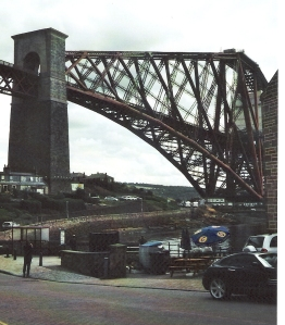 Übergang vom Kantilever auf Vorlandbrücke