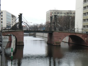 Jungfernbrücke nach der Sanierung, hier 2008