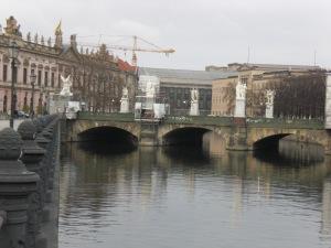 Schlossbrücke 2009, im Hintergrund Zeughaus und Museumsinsel