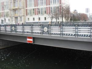 Schleusenbrücke 2008