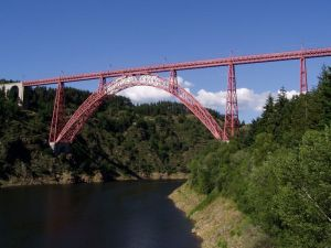 Viaduc de Garabit Quelle: J. Thurion (Gnu Lizence, Frz/ Wikipedia)