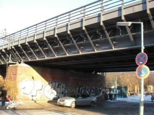 EÜ Müller-Breslau Straße. S-Bahnbrücke