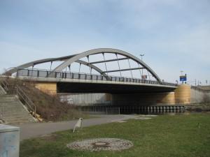 Neue Späthbrücke überden Teltowkanal