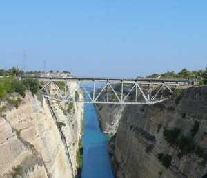 Fachwerkbrücke über den Golf von Korinth