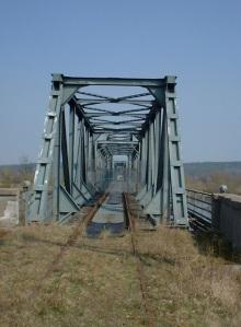 Oderbrücke, nicht mehr in Betrieb