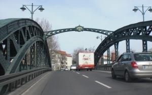 Stubenrauchbrücke zwischenTreptow und Köpenick