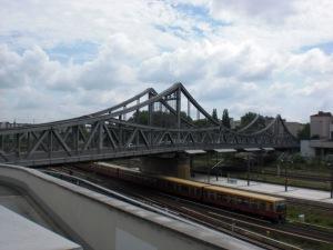 Swinemünder Brücke Ansicht von Westen aus
