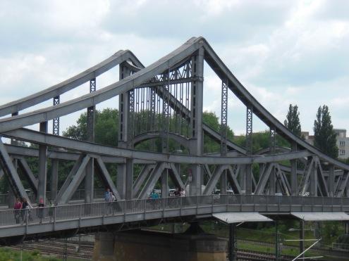 Swinemünder Brücke Ansicht vom Gesundbrunnencenter