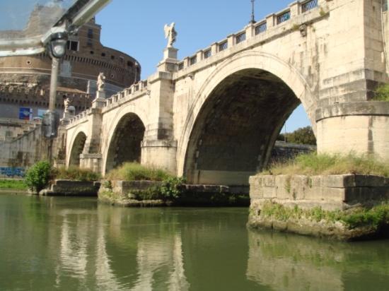 Aeliusbrücke zur Engelsburg, Rom