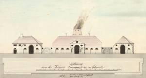 Hütte Gleiwitz, gezeichnet: Gärtner 1806