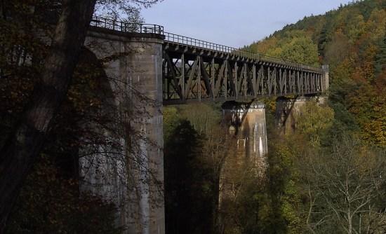 Ansicht des Eistalviadukts