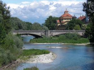 Ostbogenbrücken von der Zenneckbrücke gesehen