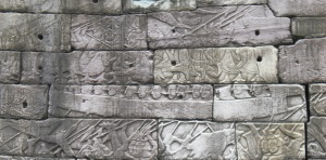 Relief am Tempel in Banteay Chhmar