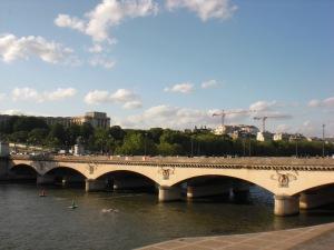 Ansicht vom linken Ufer der Seine