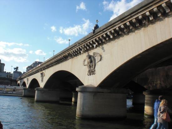 Am Eiffelturm: Pont d´Iéna
