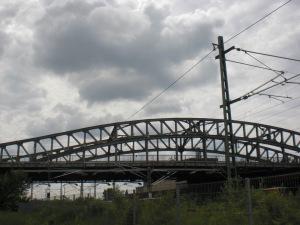 Bösebrücke: Ansicht aus Richtung Norden