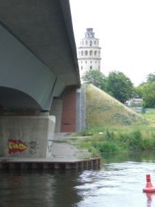 Blick in Richtung Niederlehmer Kalkturm