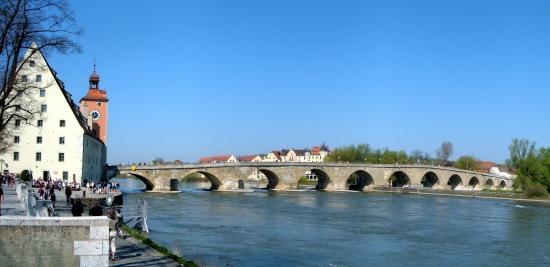 Ansicht Steinerne Brücke