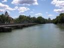 Wehrsteg von Mariannenbrücke