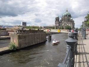 Mittelpfeiler der alten Rathausbrücke