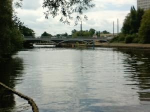 Westliche Bögen der neuen nördlichen Brücke