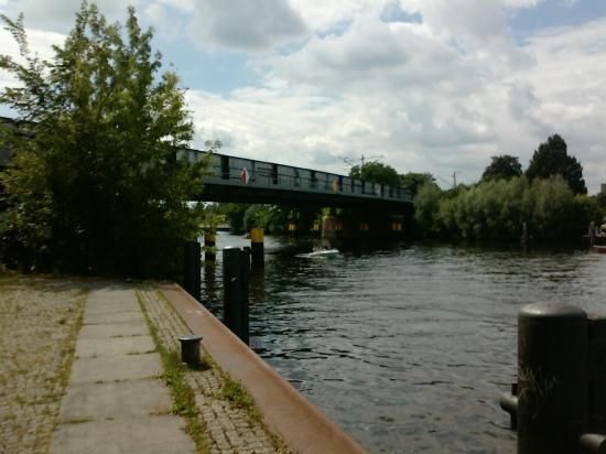 Eisenbahnbrücke über die Havel