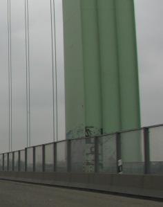 Rodenkirchener Brücke: nord-östlicher geschweißter Pylon