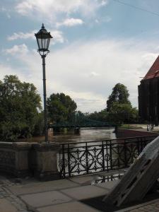 Ausblick auf die Tumskibrücke