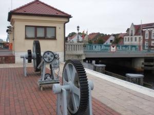 Ückerbrücke von stromauf- nach stromabwärts