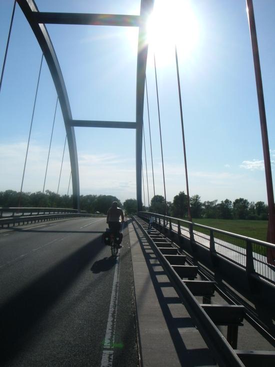 Havelbrücke südlich von Havelberg Foto:K.OE