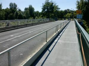 Knesebeckbrücke (1990) über den Teltowkanal