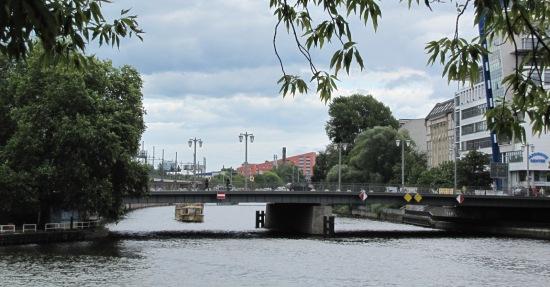 Jannowitzbrücke von Nordwesten