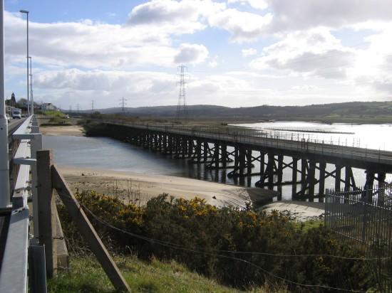 Loughor Eisenbahnviadukt