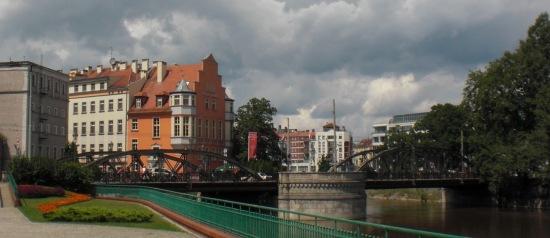 Die Mühlenbrücke (Most Mlynski) Gesamtansicht