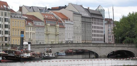 Ansicht der Inselbrücke zur Berliner Fischerinsel