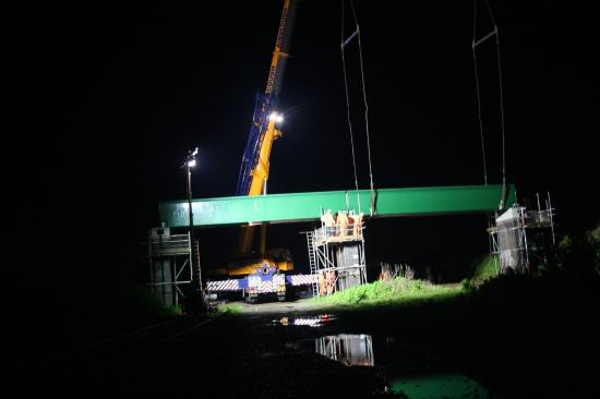Fußgängerbrücke aus CFK: Bradkirk footbridge (UK)