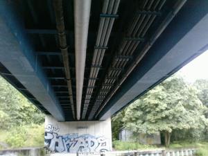 Böckmannbrücke Untersicht