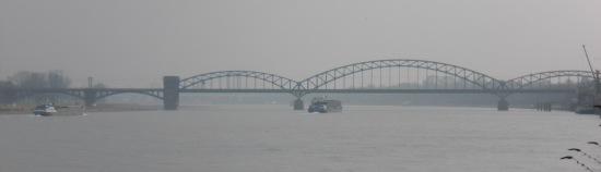 Südbrücke von der Severinbrücke aus gesehen