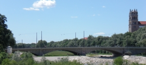 Vorlandüberbauten über die Isarwiesen