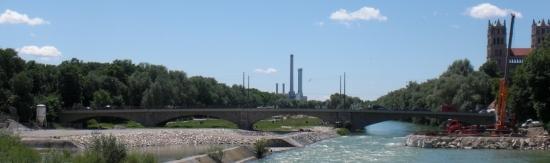 Ansicht der Reichenbachbrücke von der Corneliusbrücke aus gesehen