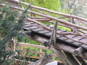 Holzbrückenteil von 1992