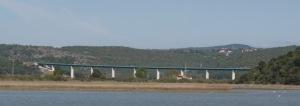 Talbrücke Mirna im Zuge der A9