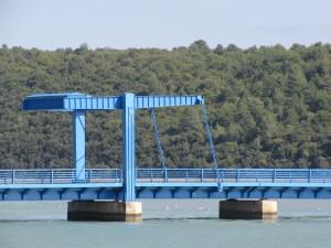 Einseitige Klappbrücke