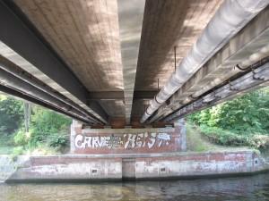 Nathanbrücke: Ansicht von unten