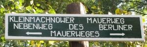 Nebenweg des Berliner Mauerweges