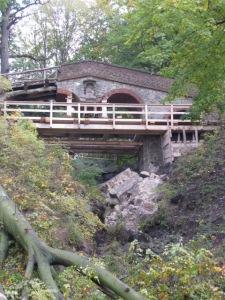 Teufelsbrücke von Havelwegbrücke aus gesehen